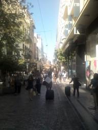 Улочки в центре Афин-3