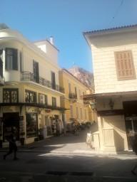 Улочки в центре Афин
