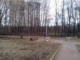 парк после уборки