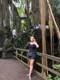 лес обезьян, баньян