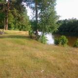 речка, пляж. велосипед)))
