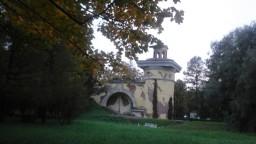 панорама со стороны красносёлки, парк