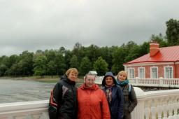У Финского залива.
