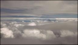 из самолёта вид
